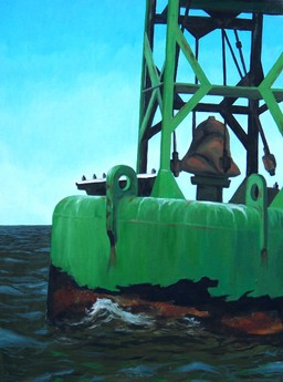 Buoy Bell oil painting