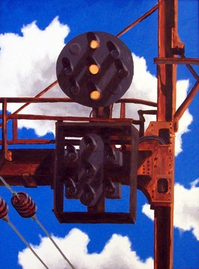 Overhead Signal oil painting