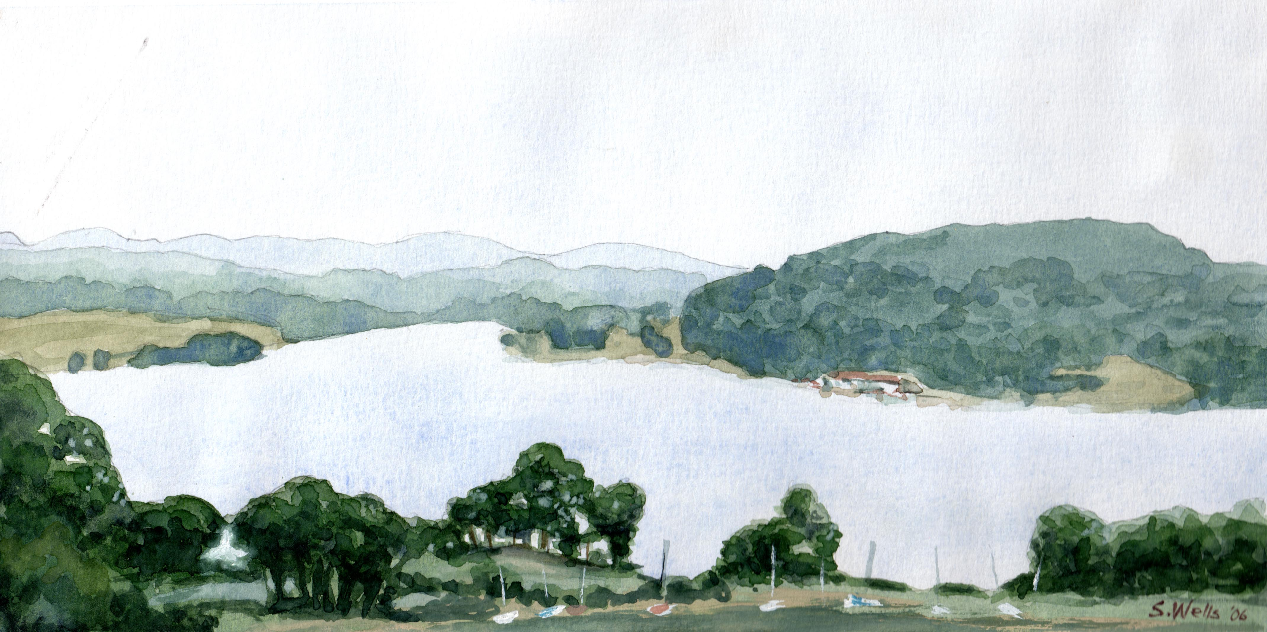 Marsh Creek watercolor